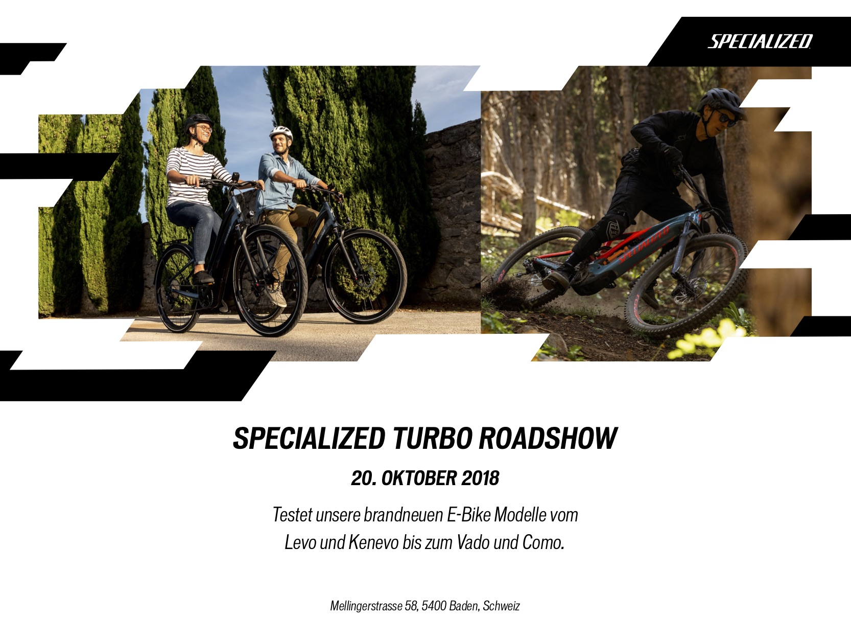 Turbo Roadshow Flyer Baden
